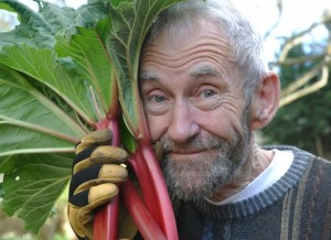 Duncan Holmes with plant