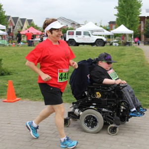 Walkers and Rollers at Walk and Roll 2016, Ridge Medows