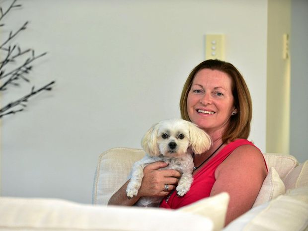 stroke survivor and dog