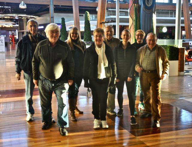 NEXT STEPS Walking Group at Tswawassen Mills