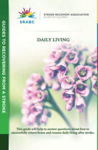 Daily Living Guide Brochure Cover
